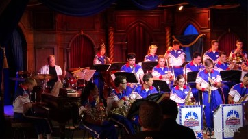 Steve Houghton and the 2018 Disneyland Resort All-American College Band