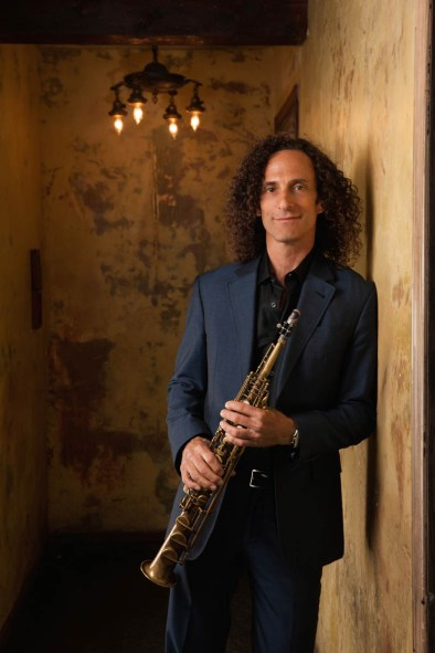 """Kenny G (""""Songbird"""") will perform Oct. 22-23 at America Gardens Theatre at 5:30, 6:45 and 8 p.m. during the 23rd Epcot International Food & Wine Festival """"Eat to the Beat"""" concert series. Performances are included with Epcot admission. (Disney)"""