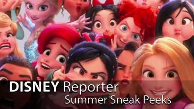 Summer Sneak Peeks - DISNEY Reporter