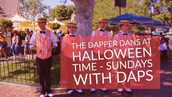 The Dapper Dans at Halloween Time – Sundays with DAPs