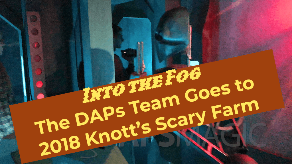 Into the Fog – How Knott's Scary Farm 2018 was an Immersive Event This Year