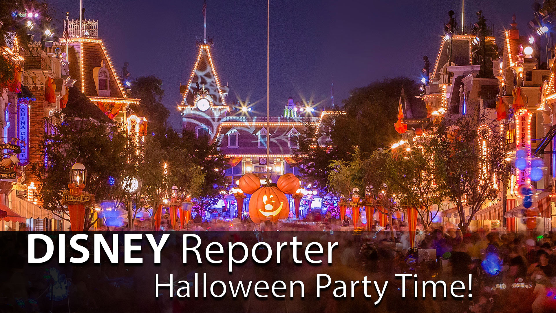Halloween Party Time! – DISNEY Reporter