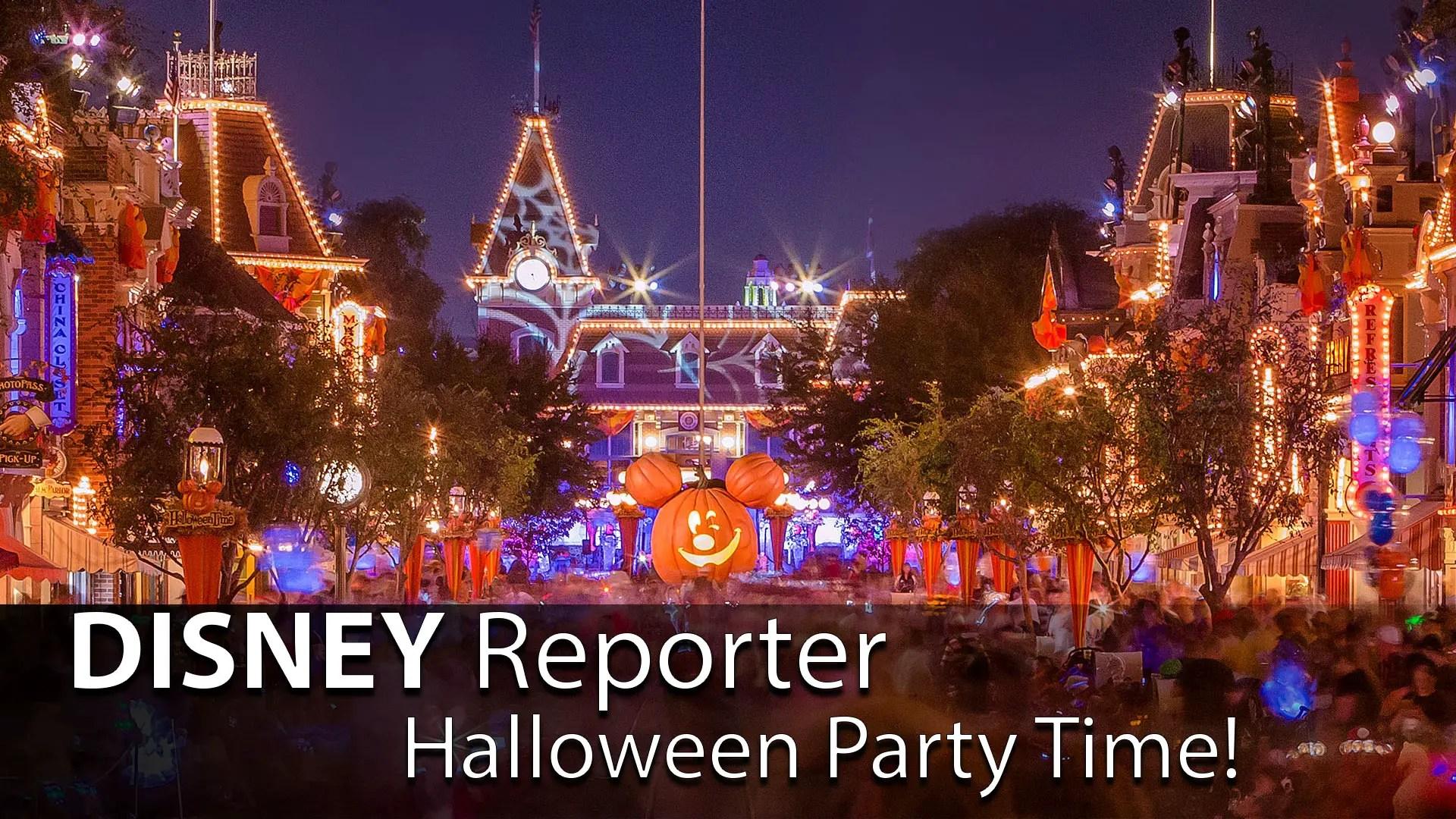Halloween Party Time! – DISNEY Reporter