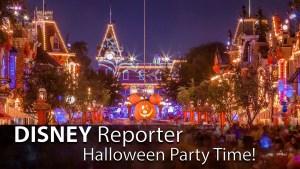 Halloween Party Time! - DISNEY Reporter