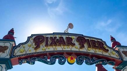 Pixar Lamp at Pixar Pier in the Disneyland Resort-1