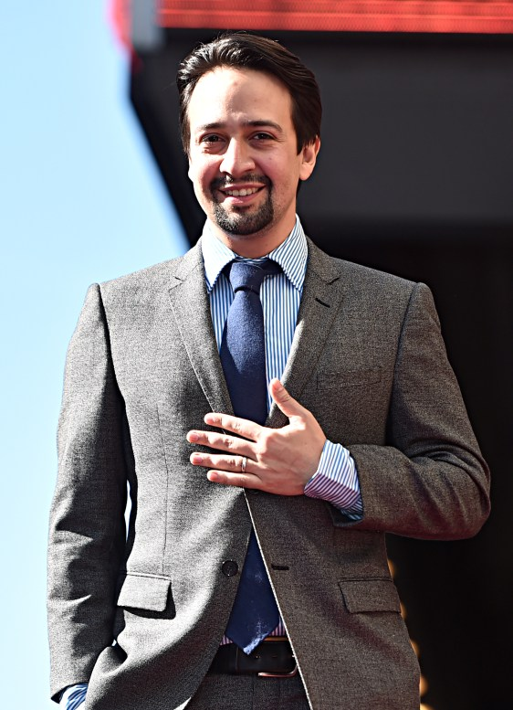 LOS ANGELES, CALIFORNIA - NOVEMBER 30: Lin-Manuel Miranda is honored with a Star on the Hollywood Walk of Fame on November 30, 2018 in Los Angeles, California. (Photo by Alberto E. Rodriguez/Getty Images for Disney)