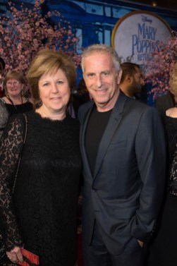 Julie Platt and Marc Platt attend The World Premiere of Disney's Mary Poppins Returns at the Dolby Theatre in Hollywood, CA on Wednesday, November 29, 2018 (Photo: Alex J. Berliner/ABImages)