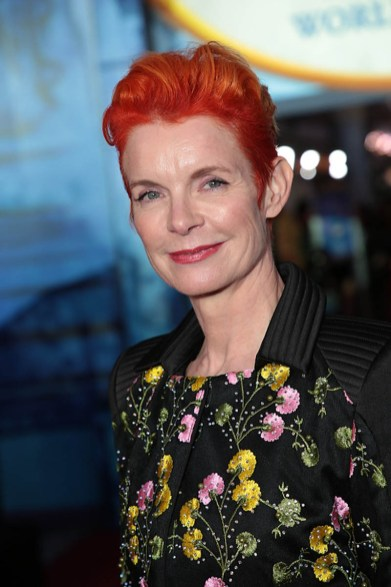 Sandy Powell attends The World Premiere of Disney's Mary Poppins Returns at the Dolby Theatre in Hollywood, CA on Wednesday, November 29, 2018 (Photo: Alex J. Berliner/ABImages)