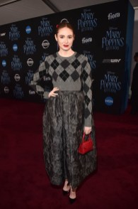 HOLLYWOOD, CA - NOVEMBER 29: Karen Gillan attends Disney's 'Mary Poppins Returns' World Premiere at the Dolby Theatre on November 29, 2018 in Hollywood, California. (Photo by Alberto E. Rodriguez/Getty Images for Disney) *** Local Caption *** Karen Gillan