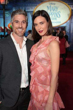 Dave Annable and Odette Annable attendThe World Premiere of Disney's Mary Poppins Returns at the Dolby Theatre in Hollywood, CA on Wednesday, November 29, 2018 (Photo: Alex J. Berliner/ABImages)