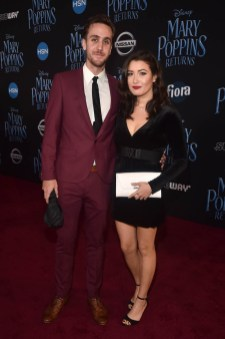 HOLLYWOOD, CA - NOVEMBER 29: Tyler McNally (L) and Jaime Swartz attend Disney's 'Mary Poppins Returns' World Premiere at the Dolby Theatre on November 29, 2018 in Hollywood, California. (Photo by Alberto E. Rodriguez/Getty Images for Disney) *** Local Caption *** Jaime Swartz; Tyler McNally