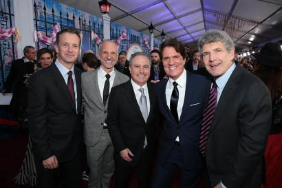Sean Bailey, John DeLuca, Alan Bergman, Rob Marshall and Alan F. Horn attend The World Premiere of Disney's Mary Poppins Returns at the Dolby Theatre in Hollywood, CA on Wednesday, November 29, 2018 (Photo: Alex J. Berliner/ABImages)