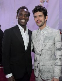 HOLLYWOOD, CA - NOVEMBER 29: Actors Kobna Holdbrook-Smith (L) and Ben Whishaw attend Disney's 'Mary Poppins Returns' World Premiere at the Dolby Theatre on November 29, 2018 in Hollywood, California. (Photo by Charley Gallay/Getty Images for Disney) *** Local Caption *** Kobna Holdbrook-Smith; Ben Whishaw