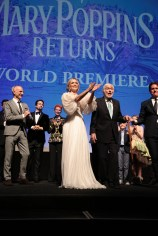 Emily Blunt, Dick Van Dyke and Rob Marshall joined on stage by cast and filmmakers at The World Premiere of Disney's Mary Poppins Returns at the Dolby Theatre in Hollywood, CA on Wednesday, November 29, 2018 (Photo: Alex J. Berliner/ABImages)