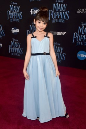 HOLLYWOOD, CA - NOVEMBER 29: Ariana Greenblatt attends Disney's 'Mary Poppins Returns' World Premiere at the Dolby Theatre on November 29, 2018 in Hollywood, California. (Photo by Alberto E. Rodriguez/Getty Images for Disney) *** Local Caption *** Ariana Greenblatt