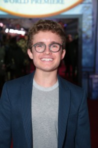 Sean Giambrone attends The World Premiere of Disney's Mary Poppins Returns at the Dolby Theatre in Hollywood, CA on Wednesday, November 29, 2018 (Photo: Alex J. Berliner/ABImages)