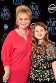 HOLLYWOOD, CA - NOVEMBER 29: Caroline Rhea (L) and Ava Rhea Economopoulos attend Disney's 'Mary Poppins Returns' World Premiere at the Dolby Theatre on November 29, 2018 in Hollywood, California. (Photo by Alberto E. Rodriguez/Getty Images for Disney) *** Local Caption *** Caroline Rhea; Ava Rhea Economopoulos