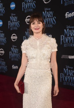 HOLLYWOOD, CA - NOVEMBER 29: Actor Emily Mortimer attends Disney's 'Mary Poppins Returns' World Premiere at the Dolby Theatre on November 29, 2018 in Hollywood, California. (Photo by Alberto E. Rodriguez/Getty Images for Disney) *** Local Caption *** Emily Mortimer