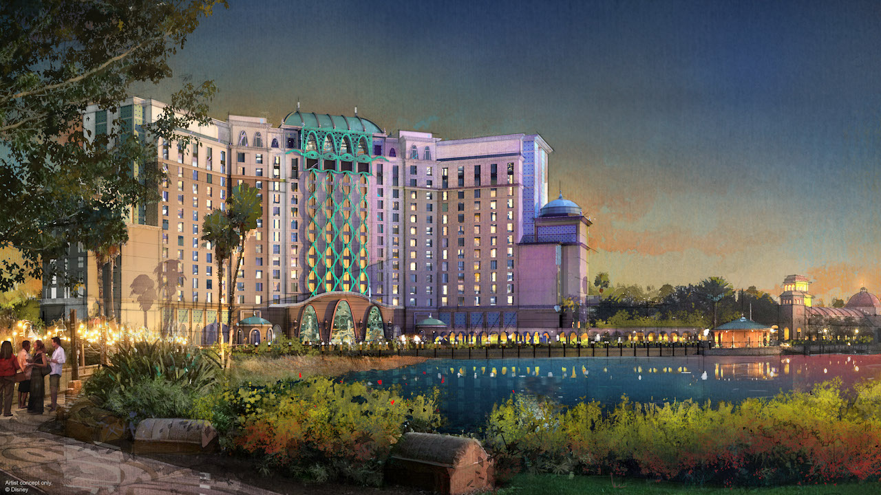 Get a Closer Look into the Gran Destino Tower at Disney's Coronado Springs Resort, Set to Open July 2019