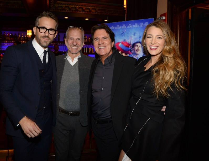 - New York, NY - 01/10/2018 - Ryan Reynolds and Blake Lively hosted a Mary Poppins Returns reception in New York at Feinstein`s / 54 Below followed by a special screening of the movie which has been nominated for 4 Golden Globe Awards including Best Picture, 9 Critics` Choice Awards and AFI`s Top 10 Films of 2018, earlier tonight. The film`s star Emily Blunt, Rob Marshall (director), John DeLuca (producer), David Magee (screenwriter), Marc Shaiman (composer, songwriter/co-lyricist) and Scott Wittman (co-lyricist) joined the couple at the reception. -PICTURED: Guest -PHOTO by: Michael Simon/startraksphoto.com -MS57185 Editorial - Rights Managed Image - Please contact www.startraksphoto.com for licensing fee Startraks Photo Startraks Photo New York, NY For licensing please call 212-414-9464 or email sales@startraksphoto.com Image may not be published in any way that is or might be deemed defamatory, libelous, pornographic, or obscene. Please consult our sales department for any clarification or question you may have Startraks Photo reserves the right to pursue unauthorized users of this image. If you violate our intellectual property you may be liable for actual damages, loss of income, and profits you derive from the use of this image, and where appropriate, the cost of collection and/or statutory damages.
