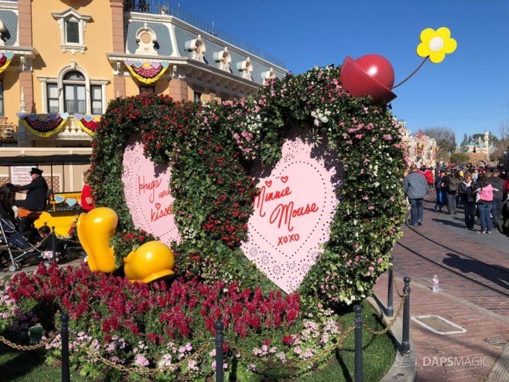 Valentines Month at Disneyland 2019