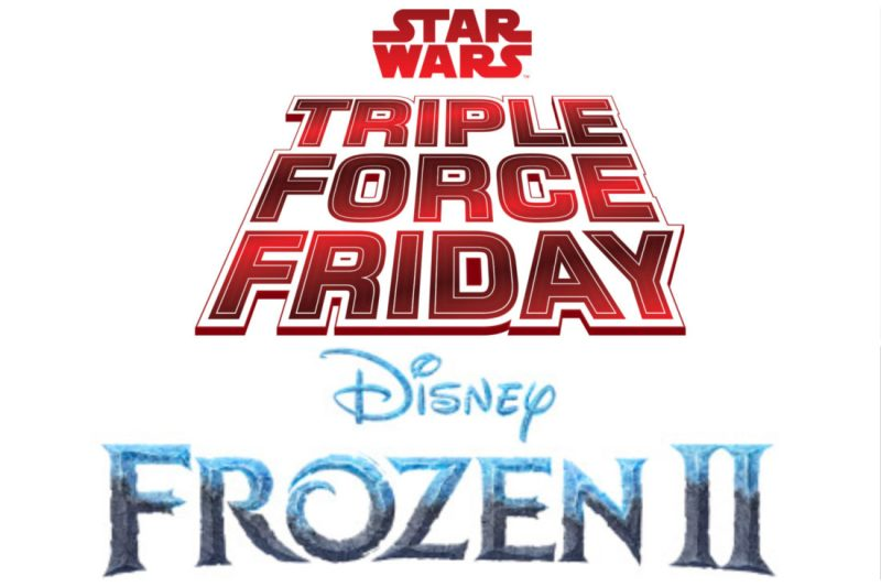 Star Wars Triple Force Friday Frozen 2