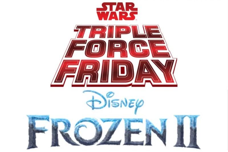 Star Wars Triple Force Friday Frozen 2