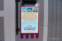 New Scrims on Sleeping Beauty Castle Refurbishment Walk Around at the Disneyland Resort-14