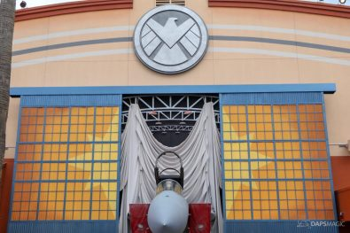 Captain Marvel Photo Location - Disney California Adventure