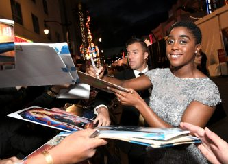 "HOLLYWOOD, CA - MARCH 04: Actor Lashana Lynch attends the Los Angeles World Premiere of Marvel Studios' ""Captain Marvel"" at Dolby Theatre on March 4, 2019 in Hollywood, California. (Photo by Charley Gallay/Getty Images for Disney) *** Local Caption *** Lashana Lynch"