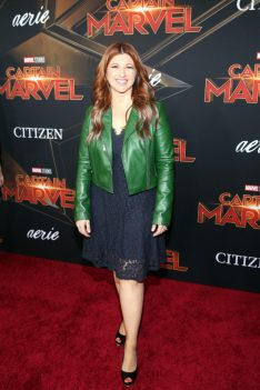 "HOLLYWOOD, CA - MARCH 04: Rachel Nichols attends the Los Angeles World Premiere of Marvel Studios' ""Captain Marvel"" at Dolby Theatre on March 4, 2019 in Hollywood, California. (Photo by Jesse Grant/Getty Images for Disney) *** Local Caption *** Rachel Nichols"
