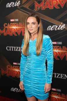"HOLLYWOOD, CA - MARCH 04: Actor Kerry Condon attends the Los Angeles World Premiere of Marvel Studios' ""Captain Marvel"" at Dolby Theatre on March 4, 2019 in Hollywood, California. (Photo by Jesse Grant/Getty Images for Disney) *** Local Caption *** Kerry Condon"