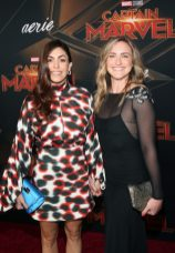 """HOLLYWOOD, CA - MARCH 04: Actor Natalia Cordova-Buckley (L) and guest attend the Los Angeles World Premiere of Marvel Studios' """"Captain Marvel"""" at Dolby Theatre on March 4, 2019 in Hollywood, California. (Photo by Jesse Grant/Getty Images for Disney) *** Local Caption *** Natalia Cordova-Buckley"""