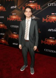 """HOLLYWOOD, CA - MARCH 04: Actor Jeff Ward attends the Los Angeles World Premiere of Marvel Studios' """"Captain Marvel"""" at Dolby Theatre on March 4, 2019 in Hollywood, California. (Photo by Jesse Grant/Getty Images for Disney) *** Local Caption *** Jeff Ward"""