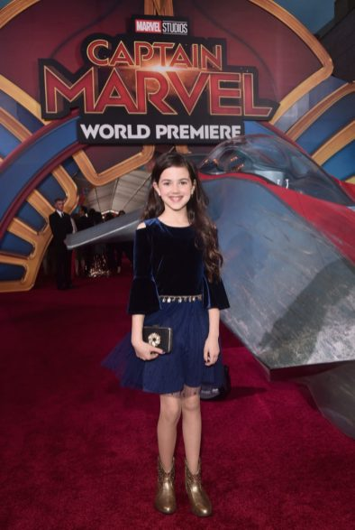 """HOLLYWOOD, CA - MARCH 04: Actor Abby Ryder Fortson attends the Los Angeles World Premiere of Marvel Studios' """"Captain Marvel"""" at Dolby Theatre on March 4, 2019 in Hollywood, California. (Photo by Alberto E. Rodriguez/Getty Images for Disney) *** Local Caption *** Abby Ryder Fortson"""