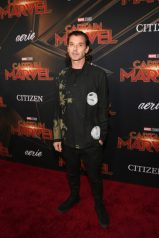 "HOLLYWOOD, CA - MARCH 04: Singer Gavin Rossdale attends the Los Angeles World Premiere of Marvel Studios' ""Captain Marvel"" at Dolby Theatre on March 4, 2019 in Hollywood, California. (Photo by Jesse Grant/Getty Images for Disney) *** Local Caption *** Gavin Rossdale"