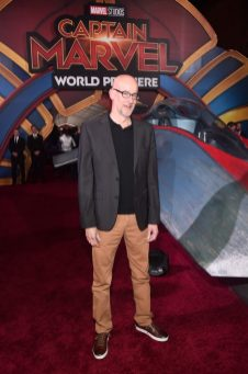 "HOLLYWOOD, CA - MARCH 04: Director Peyton Reed attend the Los Angeles World Premiere of Marvel Studios' ""Captain Marvel"" at Dolby Theatre on March 4, 2019 in Hollywood, California. (Photo by Alberto E. Rodriguez/Getty Images for Disney) *** Local Caption *** Peyton Reed"