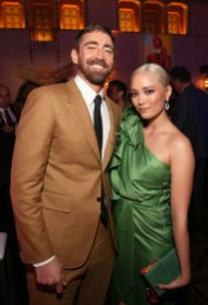 "HOLLYWOOD, CA - MARCH 04: (L-R) Actors Lee Pace and Pom Klementieff attend the Los Angeles World Premiere of Marvel Studios' ""Captain Marvel"" at Dolby Theatre on March 4, 2019 in Hollywood, California. (Photo by Jesse Grant/Getty Images for Disney) *** Local Caption *** Pom Klementieff; Lee Pace"