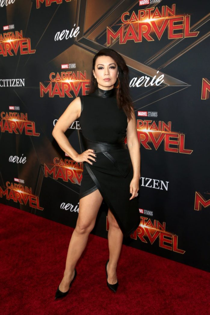 "HOLLYWOOD, CA - MARCH 04: Actor Ming-Na Wen attends the Los Angeles World Premiere of Marvel Studios' ""Captain Marvel"" at Dolby Theatre on March 4, 2019 in Hollywood, California. (Photo by Jesse Grant/Getty Images for Disney) *** Local Caption *** Ming-Na Wen"