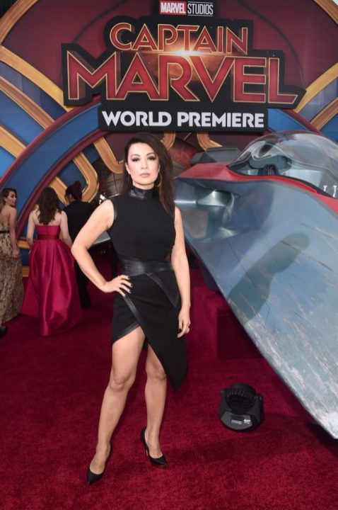 """HOLLYWOOD, CA - MARCH 04: Ming-Na Wen attends the Los Angeles World Premiere of Marvel Studios' """"Captain Marvel"""" at Dolby Theatre on March 4, 2019 in Hollywood, California. (Photo by Alberto E. Rodriguez/Getty Images for Disney) *** Local Caption *** Ming-Na Wen"""