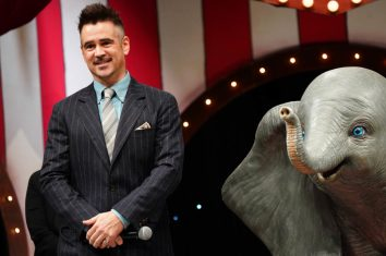 TOKYO, JAPAN - MARCH 14: Colin Farrell attends the Japan premiere of Disney's 'Dumbo' on March 14, 2019 in Tokyo, Japan. (Photo by Ken Ishii/Getty Images for Disney)