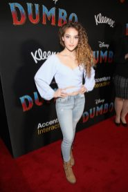 "LOS ANGELES, CA - MARCH 11: Sofie Dossi attends the World Premiere of Disney's ""Dumbo"" at the El Capitan Theatre on March 11, 2019 in Los Angeles, California. (Photo by Jesse Grant/Getty Images for Disney) *** Local Caption *** Sofie Dossi"
