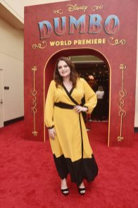 """LOS ANGELES, CA - MARCH 11: Lauren Ash attends the World Premiere of Disney's """"Dumbo"""" at the El Capitan Theatre on March 11, 2019 in Los Angeles, California. (Photo by Alberto E. Rodriguez/Getty Images for Disney) *** Local Caption *** Lauren Ash"""