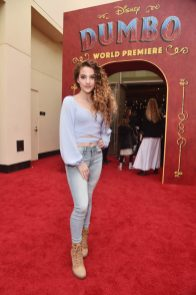 """LOS ANGELES, CA - MARCH 11: Sofie Dossi attends the World Premiere of Disney's """"Dumbo"""" at the El Capitan Theatre on March 11, 2019 in Los Angeles, California. (Photo by Alberto E. Rodriguez/Getty Images for Disney) *** Local Caption *** Sofie Dossi"""