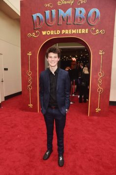 "LOS ANGELES, CA - MARCH 11: Hayden Summerall attends the World Premiere of Disney's ""Dumbo"" at the El Capitan Theatre on March 11, 2019 in Los Angeles, California. (Photo by Alberto E. Rodriguez/Getty Images for Disney) *** Local Caption *** Hayden Summerall"