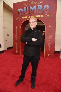 """LOS ANGELES, CA - MARCH 11: Composer Danny Elfman attends the World Premiere of Disney's """"Dumbo"""" at the El Capitan Theatre on March 11, 2019 in Los Angeles, California. (Photo by Alberto E. Rodriguez/Getty Images for Disney) *** Local Caption *** Danny Elfman"""