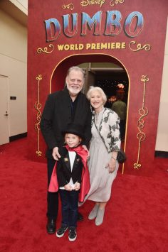 "LOS ANGELES, CA - MARCH 11: (L-R) Taylor Hackford, Waylon Hackford and Helen Mirren attend the World Premiere of Disney's ""Dumbo"" at the El Capitan Theatre on March 11, 2019 in Los Angeles, California. (Photo by Alberto E. Rodriguez/Getty Images for Disney) *** Local Caption *** Taylor Hackford; Waylon Hackford; Helen Mirren"