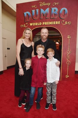 """LOS ANGELES, CA - MARCH 11: Kerri Walsh Jennings (L) and guests attend the World Premiere of Disney's """"Dumbo"""" at the El Capitan Theatre on March 11, 2019 in Los Angeles, California. (Photo by Alberto E. Rodriguez/Getty Images for Disney) *** Local Caption *** Kerri Walsh Jennings"""