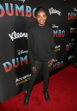 """LOS ANGELES, CA - MARCH 11: Adina Porter attends the World Premiere of Disney's """"Dumbo"""" at the El Capitan Theatre on March 11, 2019 in Los Angeles, California. (Photo by Jesse Grant/Getty Images for Disney) *** Local Caption *** Adina Porter"""