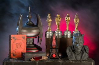Dok-Ondar's Den of Antiquities in Star Wars: GalaxyÕs Edge will offer rare and unique items, including relics left behind by the Sith. Star Wars: GalaxyÕs Edge opens May 31, 2019, at Disneyland Resort in California and Aug. 29, 2019, at Walt Disney World Resort in Florida. (David Roark/Disney Parks)